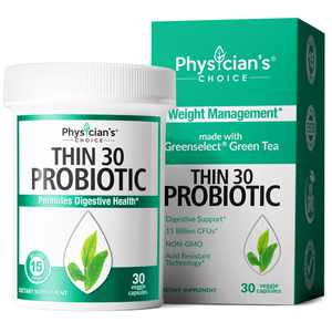 Physician's Choice Probiotics for Weight Loss Capsules 15 Billion CFU , 30 Ct.