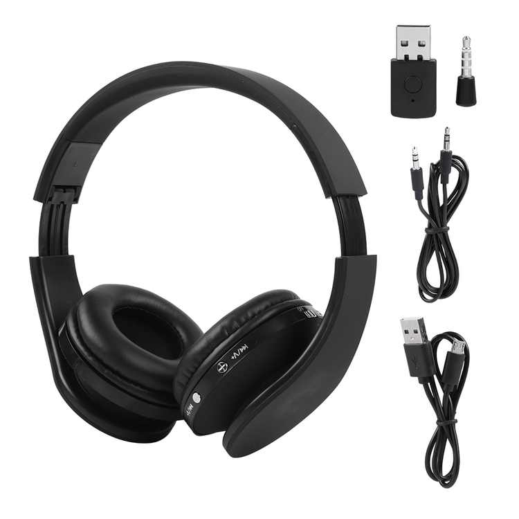 Wireless Bluetooth Headphones for PS4 Gaming Headset Hifi Stereo Headphones with Mic Inbuilt Noise Cancelling Bluetooth Headset