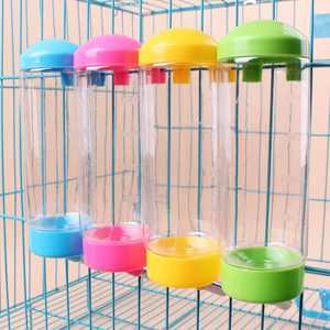Pet Self Drinking Water Bottle Hanging Fountain No Drip Water Feeder For Dogs Cats Small Animals