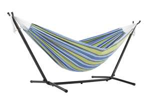 Vivere Double Oasis Hammock with 9ft Stand