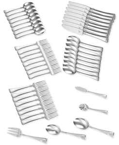 Zwilling TWIN Brand Angelico 18/10 Stainless Steel 45-Pc. Flatware Set, Service for 8