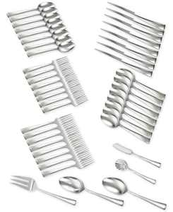 Zwilling TWIN Brand Bellasera 18/10 Stainless Steel 45-Pc. Flatware Set, Service for 8
