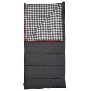 Slumberjack 20F Grand Lake Deluxe Rectangular Sleeping Bag, Dark Shadow