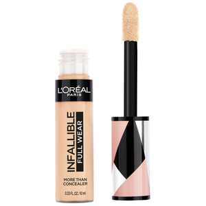 L'Oreal Paris Infallible Full Wear Concealer Waterproof, Full Coverage, Cashmere, 0.33 fl. oz.