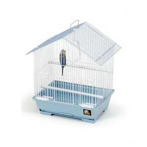 """Prevue Pet Products 15"""" House Style Parakeet Slant Roof Cage"""