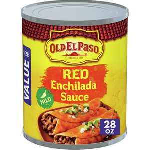 Old El Paso Enchilada Sauce, Mild, Red, 28 oz