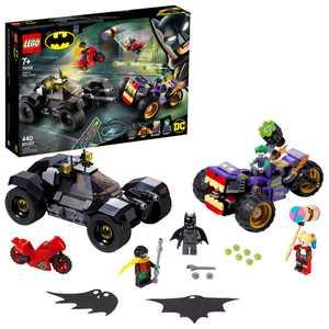 LEGO DC Batman Joker's Trike Chase 76159 Batmobile Building Toy with Action Minifigures (440 Pieces)