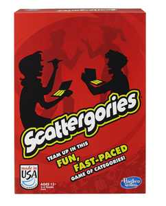 Classic Scattergories Game, Party Game for Kids Ages 13 and up, for 2+ Players