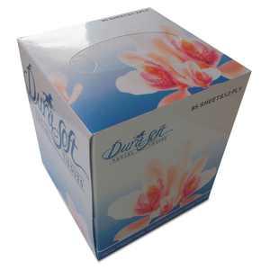 GEN Facial Tissue Cube Box 2-Ply White 852E