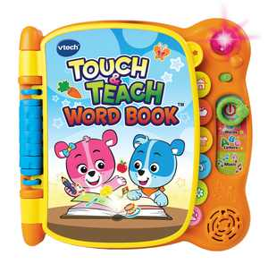 VTech Touch and Teach Word Book Featuring More Than 100 Words, Electronic Learning Systems