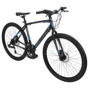 "Huffy 27.5"" Carom Mens' 14-Speed Aluminum Gravel Bike for Adults"