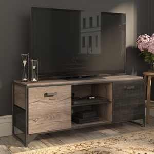 Bush Furniture Refinery 60W TV Stand for 65 Inch TV