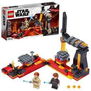 LEGO Star Wars: Revenge of the Sith Duel on Mustafar 75269 Anakin Skywalker vs. Obi-Wan Kenobi Building Kit (208 Pieces)