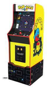 PAC-MAN 12-IN-1 LEGACY EDITION ARCADE 1UP WITH RISER