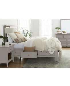 Sanibel Storage Bedroom 3-Pc. Set (Queen Bed, Nightstand, and Dresser), Created for Macy's