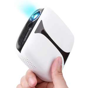 VANKYO Burger 101 Wireless Pico Projector, Rechargeable Mini DLPProjector