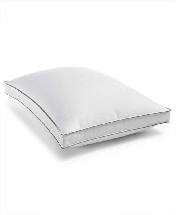 Luxe Down-Alternative Firm-Density Gusset Standard/Queen Pillow, Hypoallergenic, Created for Macy's