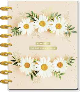 The Happy Planner Pressed Florals Classic Guided Journal