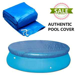 8ft Heavy-Duty Blue Winter Pool Cover for Round Above Ground Swimming Pools, Round Pool