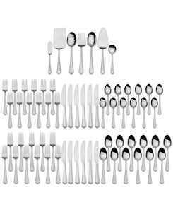 67-Pc. Carleigh Flatware & Hostess Set Service for 12, Created for Macy's