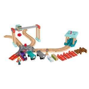 Thomas & Friends Wood Lift & Load Cargo Train Track Set