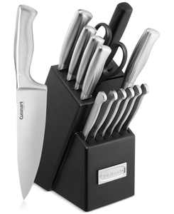 Classic Stainless Steel 15-Pc. Cutlery Set