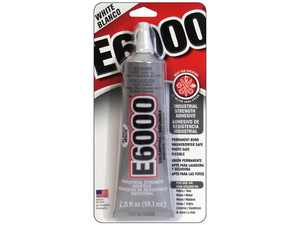 E6000 Eclectic Industrial Adhesive, White 2 fl. oz.