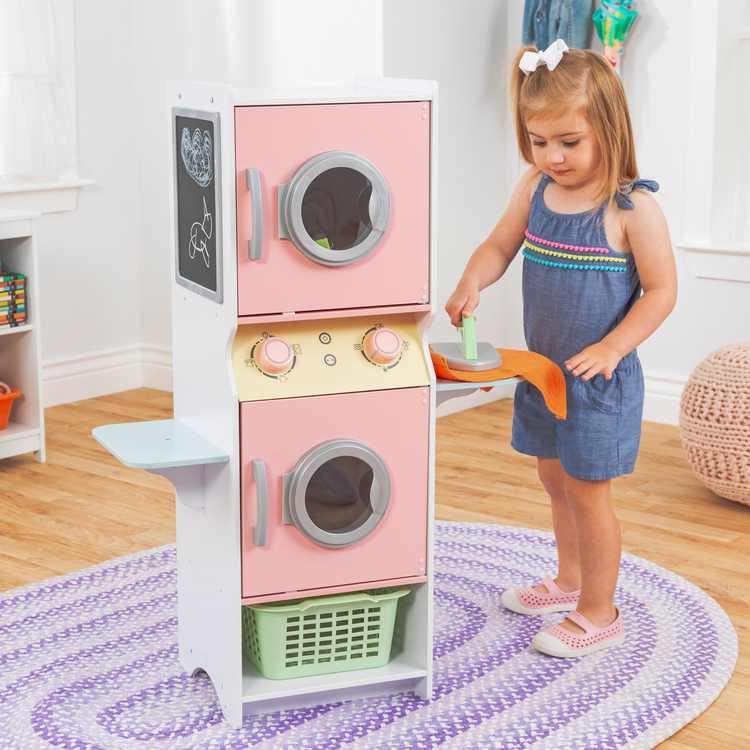 KidKraft Laundry Playset - Pastel