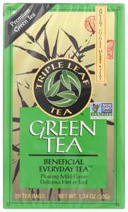 Triple Leaf Tea, Premium Green, 20 Tea Bags