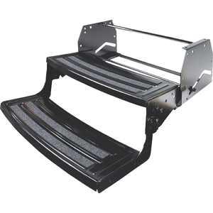"Lippert 432682 Manual Steel 24"" 2-Step RV Entry"
