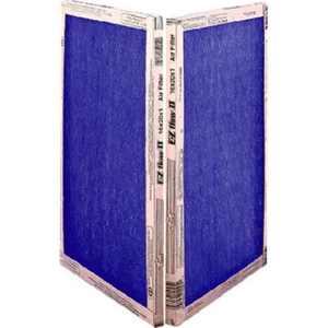 10055.011020 10 x 20 x 1 in. EZ Flow II Spun Fiberglass Disposable Furnace Filter - Pack Of 12