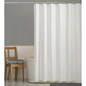"""Mainstays Water Repellent 70"""" x 72"""" Fabric Shower Liner"""