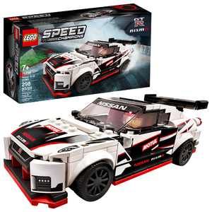 LEGO Speed Champions Nissan GT-R NISMO 76896 Toy Cars Building Kit (298 Pieces)