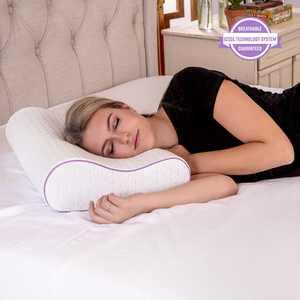 SensorPEDIC Temperature Regulating Coolest Comfort Contour Memory Foam Bed Pillow