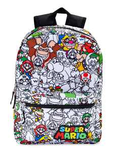 Mario All Over Print Backpack