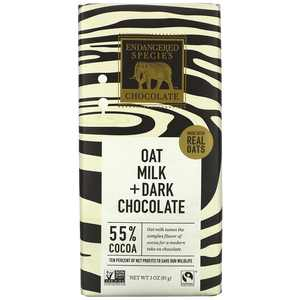 Endangered Species - Dark Chocolate Bar 55% Cocoa Oat Milk - 3 oz.