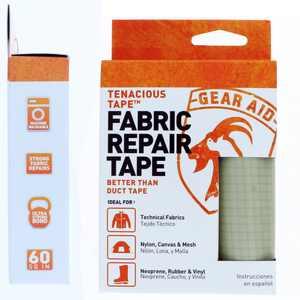 Gear Aid Tenacious Tape Ultra Strong Fabric Repair Tape Platinum