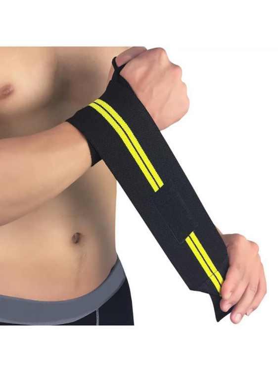 Ropalia Gym Hand Wrist Brace Support Weight Lifting Strap Wrap Wristband Strap Wrist Guard Bandage
