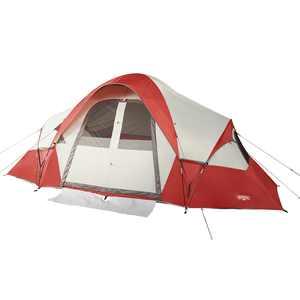 Wenzel Bristlecone 8-Person Cabin Tent, Rust
