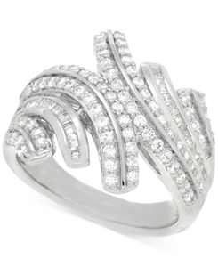 Diamond Statement Ring (1 ct. t.w.) in Sterling Silver, Created for Macy's