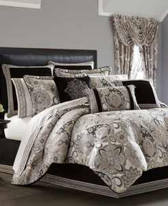 J. Queen 4-Pc. New York Guiliana California King 4-Pc. Comforter Set