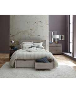 Tribeca Storage Bedroom 3-Pc. Set (Queen Bed, Dresser & Nightstand), Created for Macy's