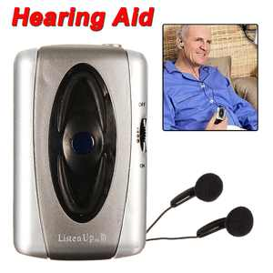 Listen Up Voice Hearing Aids Aid Personal Sound Amplifier Listening Device Headset For Old Men