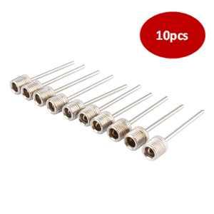 10pcs Inflating Needle Pin Nozzle Air Pump for Football Basketball Soccer Ball