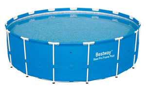 """Bestway 15' x 48"""" Steel Pro Frame Above Ground Swimming Pool   12752"""