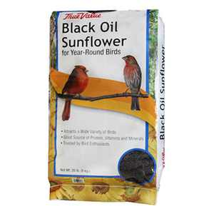 JRK Seed & Turf Supply B200020 20 lbs. Black Oil Sunflower Bird Food