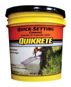 Quikrete  Fast Setting Concrete Mix  20 lb.