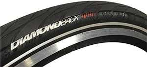 Diamondback 3532762 Interval Road 700X28 Road Tire 700 cm X Folding Bead - Black