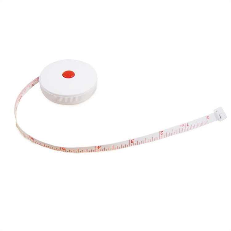 """(4 Pack) Retractable in/mm 60"""" Tailors Sewing Measuring Tape"""