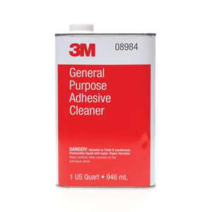 3M 08984 General Purpose Adhesive Cleaner - 1 Quart